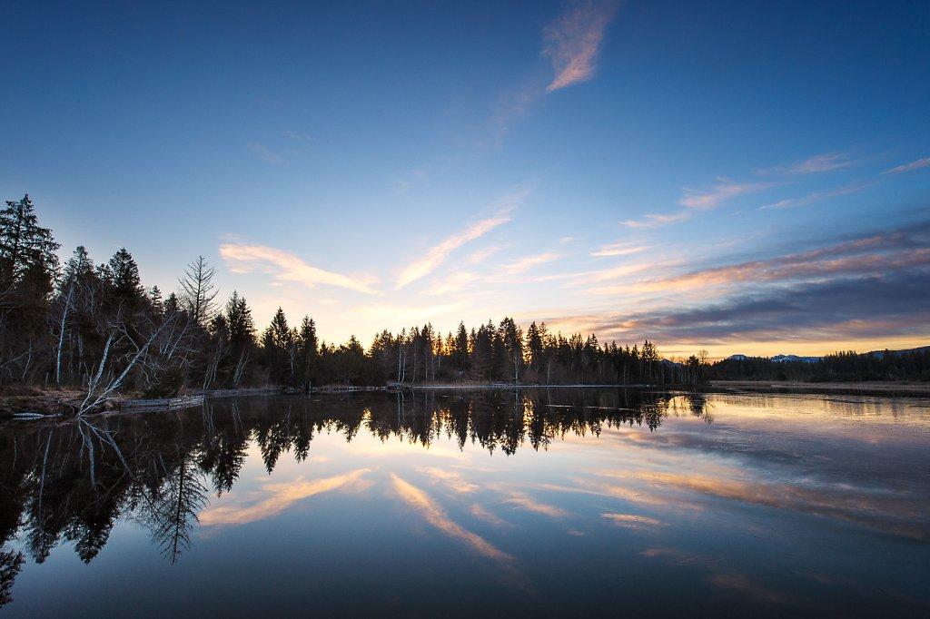 Sonnenaufgang am Kirchsee