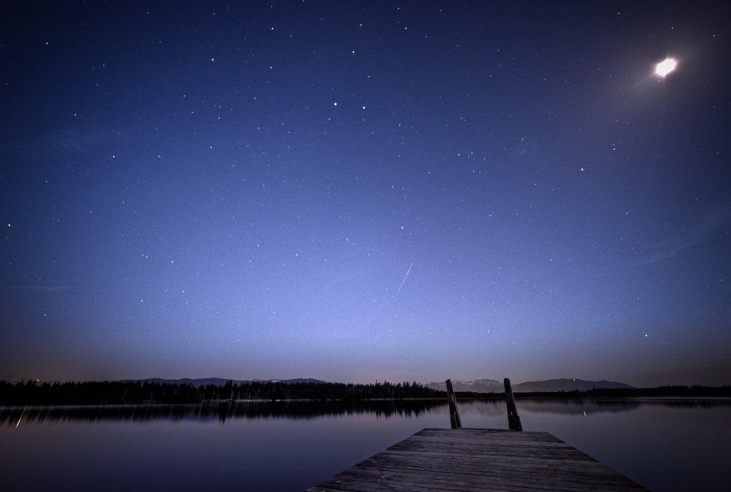Nacht am Kirchsee