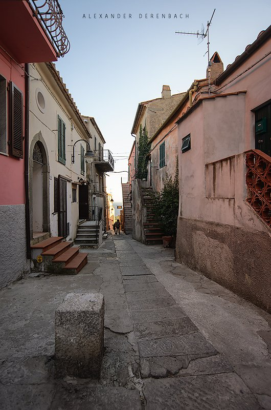Streets of Capoliveri
